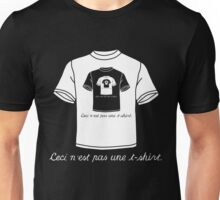 This Is Not A T-Shirt (Dark) Unisex T-Shirt
