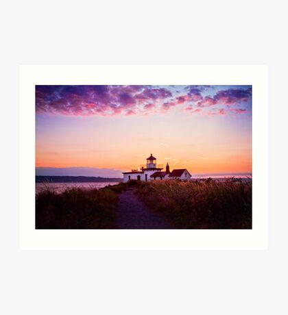 Discovery Park Lighthouse Art Print