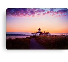 Discovery Park Lighthouse Canvas Print