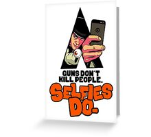 Clockwork Selfie Greeting Card