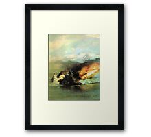 WW2 Sea Battle Framed Print