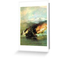 WW2 Sea Battle Greeting Card