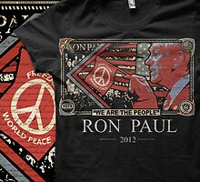 "Ron Paul ""We are the people"" shirt by itsjustmarc"