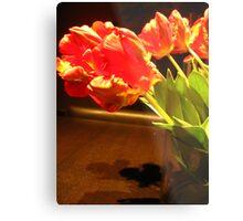 Vibrant Tulips 2 Metal Print