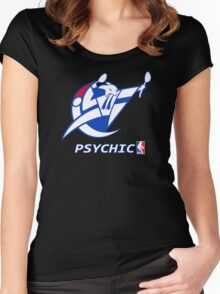 NPA Series - PSYCHIC TYPE Women's Fitted Scoop T-Shirt