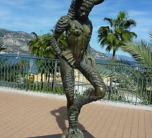 The Wild Creature Of Cap Ferrat by Fara