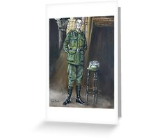 Len Shannon - 9th Australian Light Horse. Greeting Card
