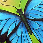 Kazart Butterfly No.1 iphone case by Karen Sagovac
