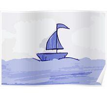 Sail the sea Poster