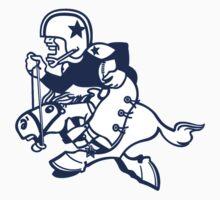 Dallas Cowboys Logo 3 Baby Tee