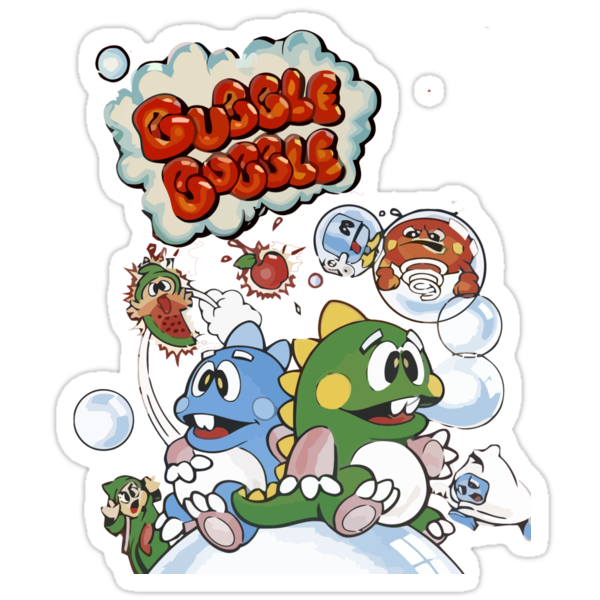 Bubble Bobble by Ryan Bro
