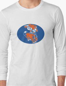Denver Broncos Logo 2 Long Sleeve T-Shirt