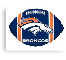 Denver Broncos Logo 6 Canvas Print
