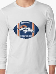 Denver Broncos Logo 6 Long Sleeve T-Shirt