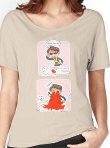 cyclops as a detective Women's Relaxed Fit T-Shirt