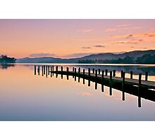 Twilight over Coniston Water Photographic Print
