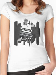 One Accurate Measurement... Women's Fitted Scoop T-Shirt