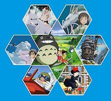 Hayao Miyazaki Films  by adovemore