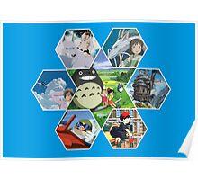 Hayao Miyazaki Films  Poster