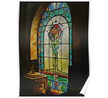 The Chapel Window Poster