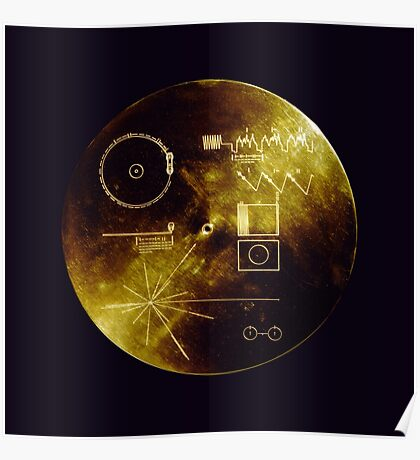 Voyager Golden Record Poster