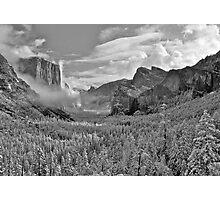 Yosemite Winter Wonderland Photographic Print