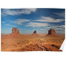Mitten Buttes, Monument Valley Poster