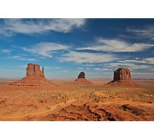 Mitten Buttes, Monument Valley Photographic Print