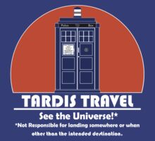 TARDIS Travel Agency by Anglofile