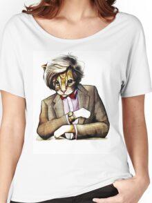 Catt Matt Smith posed as Dos Equis Interesting Man Women's Relaxed Fit T-Shirt