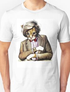 Catt Matt Smith posed as Dos Equis Interesting Man T-Shirt