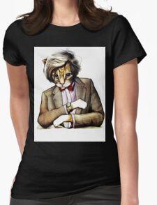 Catt Matt Smith posed as Dos Equis Interesting Man Womens Fitted T-Shirt