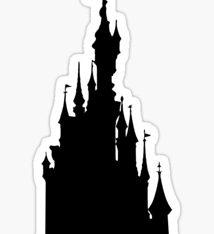 Le Château de la Belle au Bois Dormant Sticker