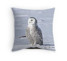 Arctic Guardian Throw Pillow