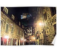 Quebec street Poster