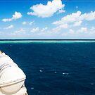 Approaching Ribbon Reef No 9 by Chris Cohen