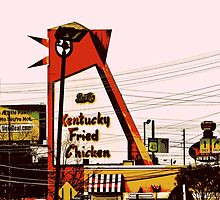 The Big Chicken - Marietta, Ga by Scott Mitchell