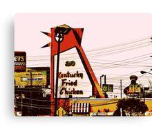 The Big Chicken - Marietta, Ga Canvas Print