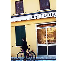 Trattoria Photographic Print