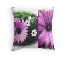 A Daisy or Two from my Garden Throw Pillow