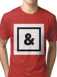 """Alphabet """"&"""" Tri-blend T-Shirt"""