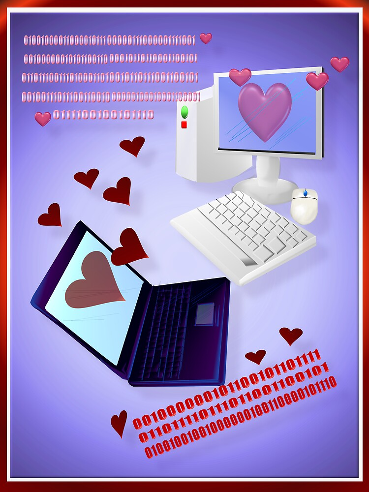 A Computer's Valentine by Lotacats