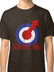 Retro look scooter boy mod target design Classic T-Shirt