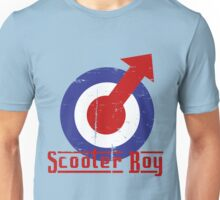 Retro look scooter boy mod target design Unisex T-Shirt