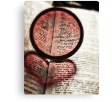 i *heart* photography Canvas Print