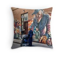 Centre of Attention Throw Pillow