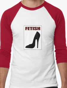 FETISH - Highly Erotic High Heels Men's Baseball ¾ T-Shirt