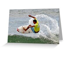 Surfing 2 Greeting Card