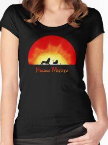 Hakuna Matata Women's Fitted Scoop T-Shirt