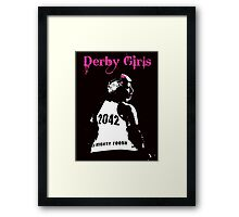 Derby Girls Framed Print